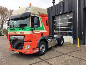 Nieuwe DAF FTP CF 440 MX 11 motor voor Haarsma Groep - Bedrijfswagen Service Friesland