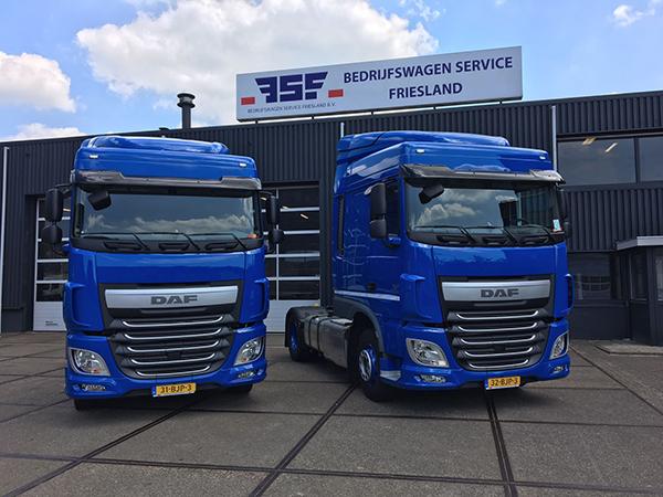 2 DAF XF 460 Post Logistics - Bedrijfswagen Service Friesland