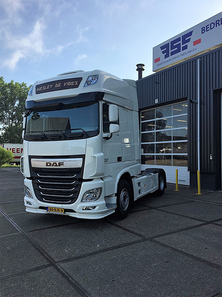 DAF FT XF 460 voor W de Vries Transport