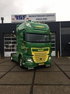 DAF FT XF 510 Super Space Cab voor Terpstra Transport