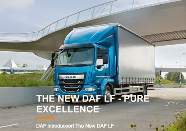 DAF introduceert The New DAF LF - Pure