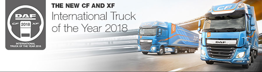 The New CF en XF International Truck of the Year 2018