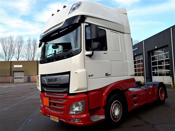 new daf xf ft 480 super space cab voor frankena