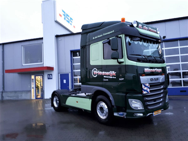 New DAF XF FT 480 Space Cab