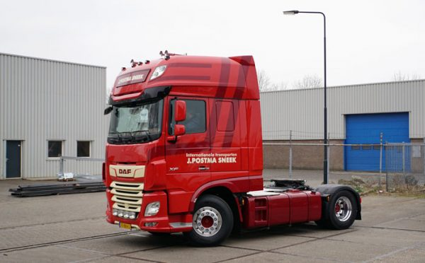 DAF XF 480 FT 4x2 trekker J Postma Transport