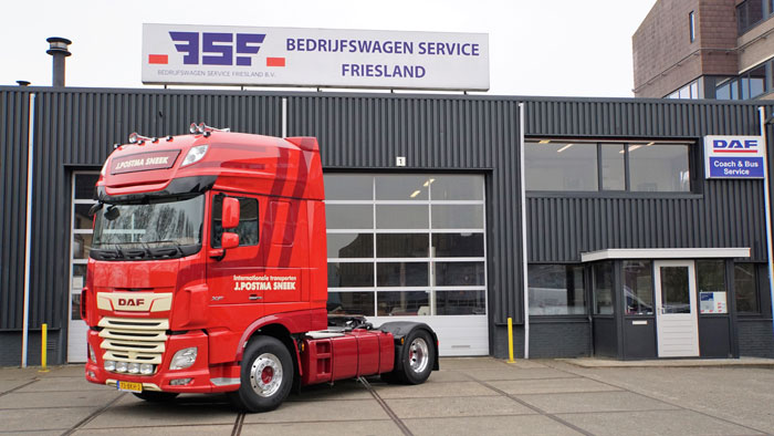 Nieuwe DAF X 480 FT Super Space Cab 4x2 J Postma Transport