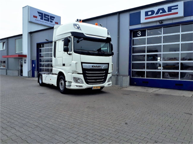 DAF XF 480 FT 4x2 Super Space Cab Truck Of The Year voor Faber Logistics
