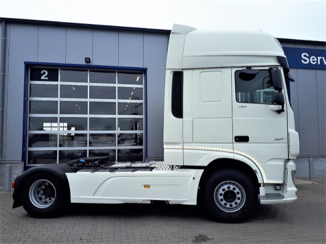 XF 480 FT 4x2 Super Space Cab voor Faber Logistics