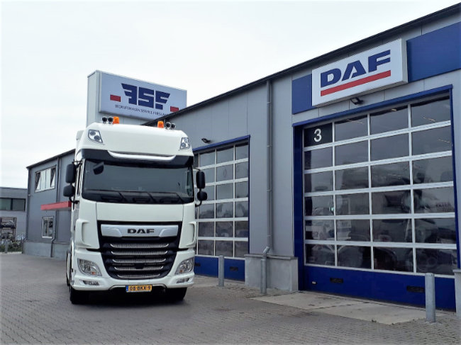 DAF XF 480 FT 4x2 Truck Of The Year voor Faber Logistics