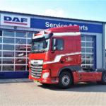 DAF XF 480 FT 4x2 voor De Boer Internationale Transporten