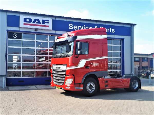 New DAF XF 480 FT 4x2 voor De Boer Internationale Transporten
