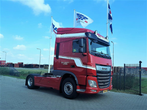 New DAF XF 480 FT voor De Boer Internationale transporten