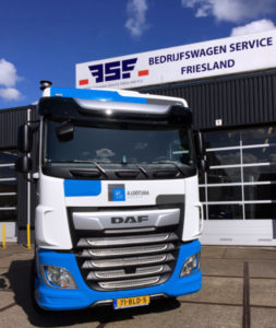 DAF XF 450 FT 4x2 voor Lootsma Transport