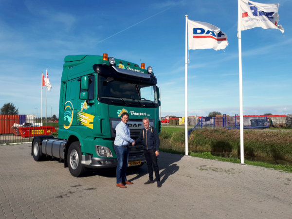 DAF XF 480 FT 4x2 Space Cab voor AM Transport