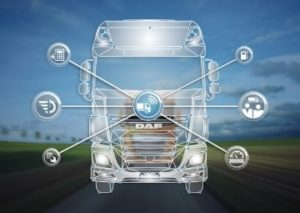 DAF Connect Fleet-managementsysteem voor am transport
