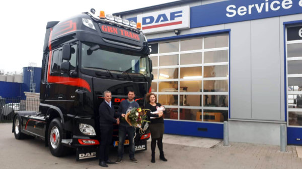 DAF XF 480 FT Super Space Cab voor GBN trans