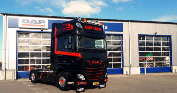 DAF XF 480 FT voor GDB trans
