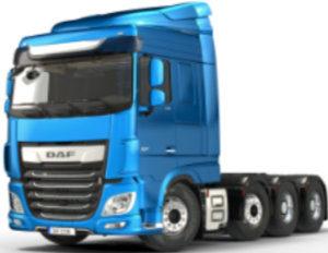 Accu's houden uw truck op de weg