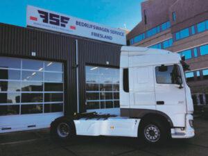 DAF XF 460 Space Cab voor Bloementeelthandel Munster