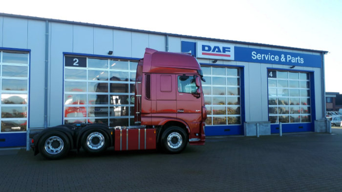 DAF XF 480 FTG 6x2 Super Space Cab