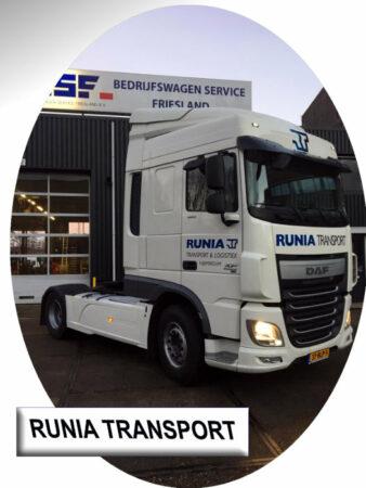 Gebruikte DAF XF voor Runia Transport