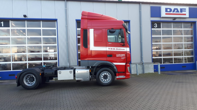 2e XF 450 FT Euro 6 voor VBB Transport