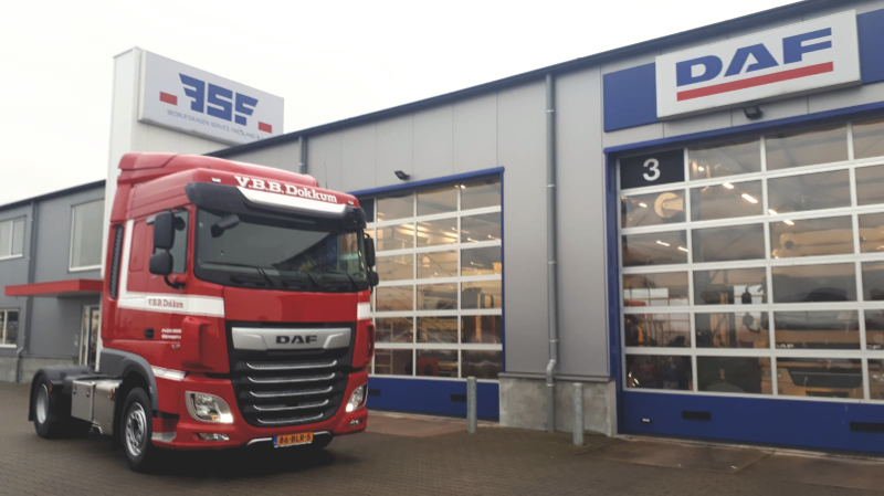 DAF XF 450 FT Euro 6 voor VBB Transport