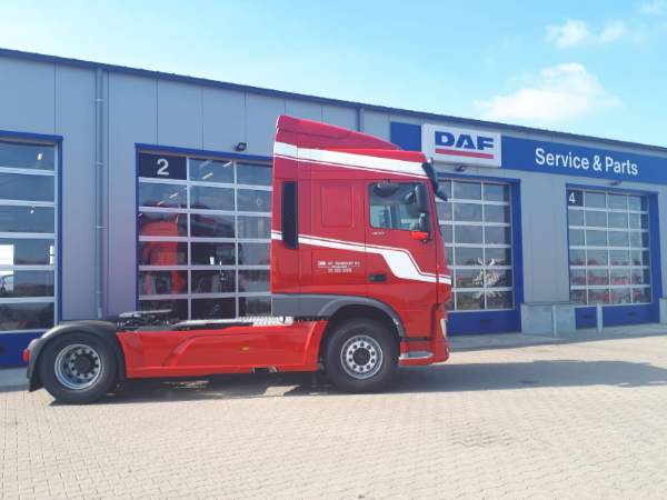 DAF XF 480 voor De Boer Internationaal Transport