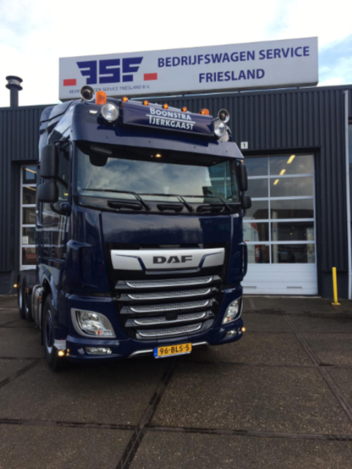 XF 480 FTG 6x2 voor Jan Boonstra Transport