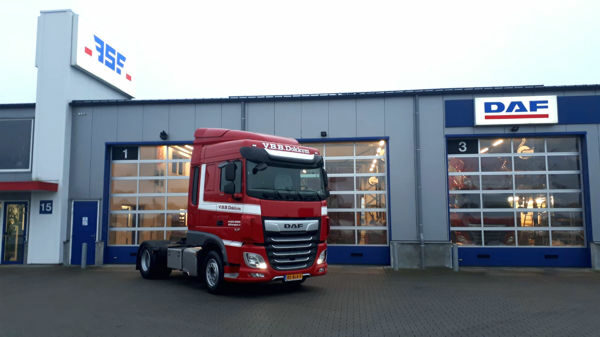 3e XF 450 FT Euro 6 voor VBB Transport