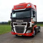 4 DAF XF voor Tiltrans Transport