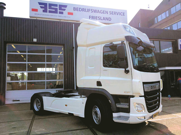 DAF CF FT 450 Space Cab 4x2