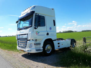 DAF CF FT 450 voor de Takomst in Workum