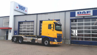 XF 480 Space Cab voor Ridder & de Vries Transporten