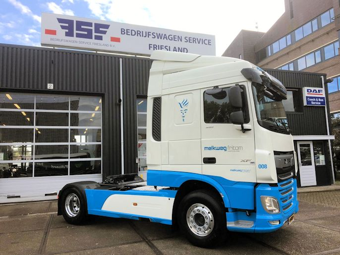 DAF XF 450 FT Space Cab Melkweg Fritom