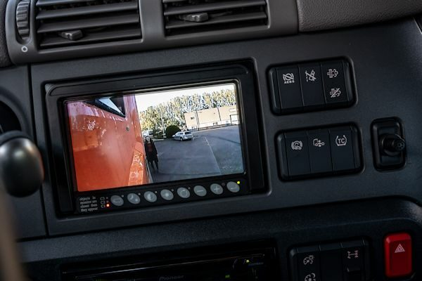 Camera beeldscherm Orlaco zijzicht camera systeem