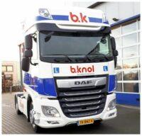XF 450 4x2 trekker voor Verkeersschool Berend Knol