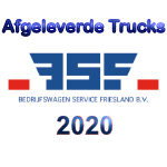 afgeleverde trucks DAF trucks 2020