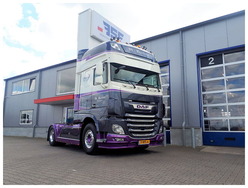 DAF XF 480 FT 4x2 Super Space Cab Willem Baron Transport