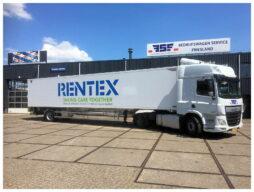 Heiwo Citytrailer voor Rentex Floron