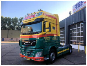 DAF XF 480 FT Super Space-Cabine voor Giesing