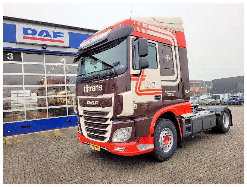 XF FT 480 voor Tiltrans Transport