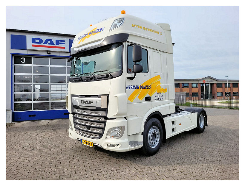 First Choice DAF XF 480 FT 4x2 SSC voor Herman  Denkers Transport