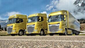 DAF start met nieuwe serie trucks de nieuwe XF XG XG+