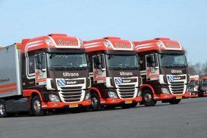 Zes nieuwe DAF XF trucks Tiltrans