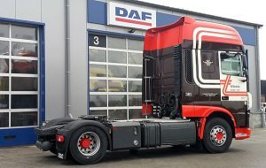 6e DAF XF uit een serie van zes voor Tiltrans - afgeleverd door BSF Trucks