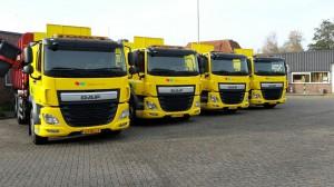 4 DAF CF trucks voor gemeente Sudwest Fryslan