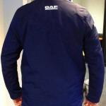 BSF-DAF softshell jas achterkant