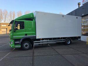 DAF CF 230 Euro 6 voor Cnossen en van der Ploeg BSF Bedrijfswagen Service Friesland