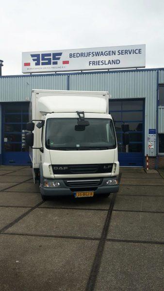 daf lf truck afgeleverd door bedrijfswagen service friesland